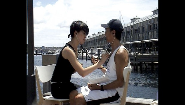 Documentation of 'How To Talk to Strangers', Woolloomooloo wharf.
