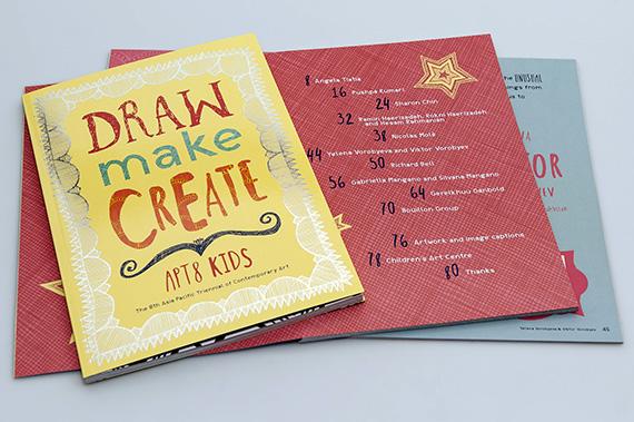 APT8 CAC publication Draw Make Create APT8 Kids